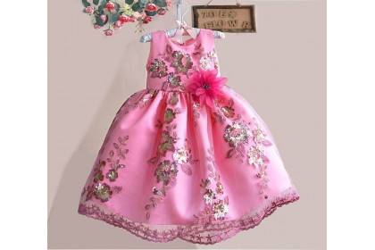 ZOE CNY GOWN23(3-8Y)-CLEARANCE 6Y