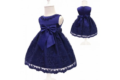 PRINCESS BABY GOWN 405-JL19*4 (W HAIRBAND)