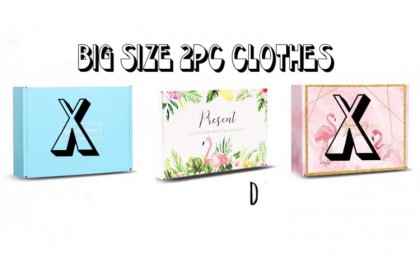 GIFT BOX (BIG) 2PC CLOTH