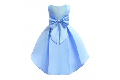 TODDLER DRESS 6-GRAND BIG BOW WITH LONG TAIL #3180 *4