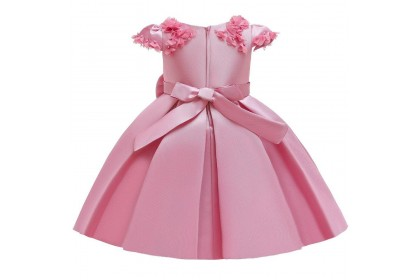 PRINCESS BABY GOWN 589-MY*4 (W HAIRBAND)