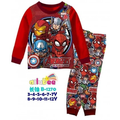 B1270-AILUBEE - AVENGERS  LONG SLEEVE