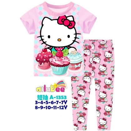 A1353-AILUBEE -  KITTY SHORT SLEEVE