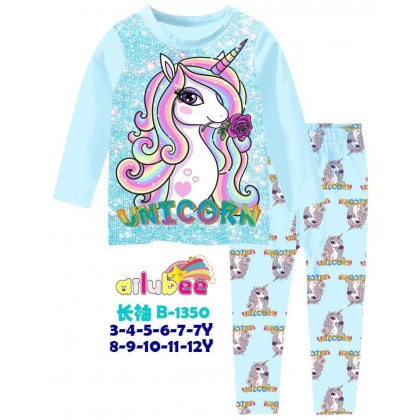 B1350-AILUBEE -  UNICORN LONG SLEEVE