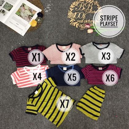STRIPE PLAYSET - SIZE 1-7Y - CODE X1-X13-VN PART1