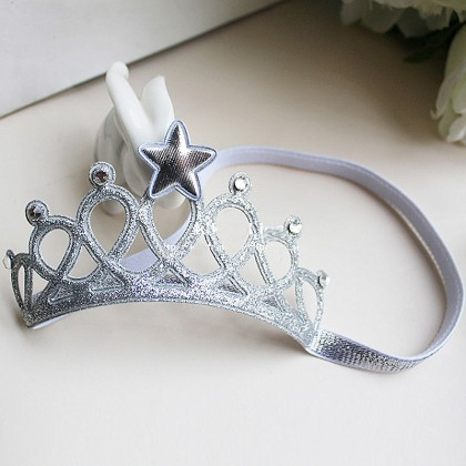 READY-CROWN HAIRBAND  (SILVER)
