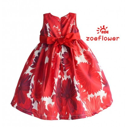 ZOE CNY GOWN 3(3-8Y)-CLEARANCE